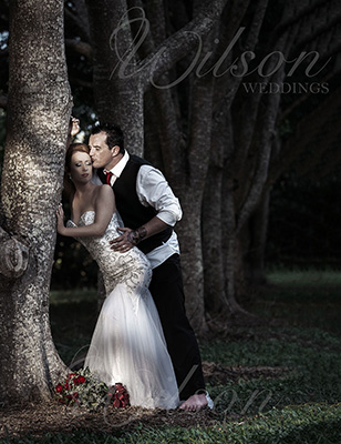 Stylish wedding photography hervey bay