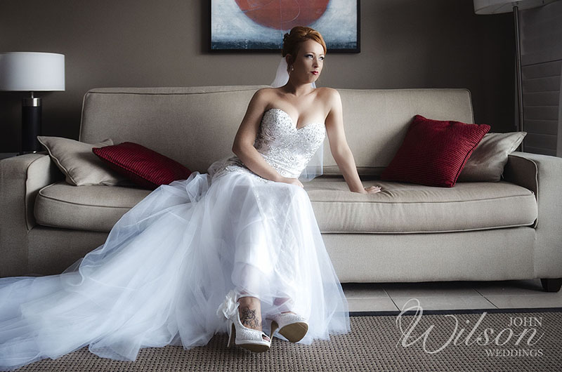 Bride portrait hervey bay wedding photo
