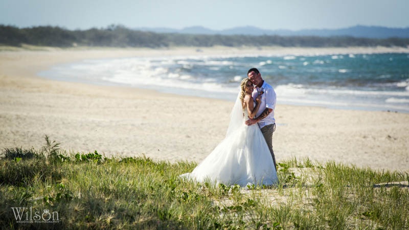 Rainbow Beach wedding photography06