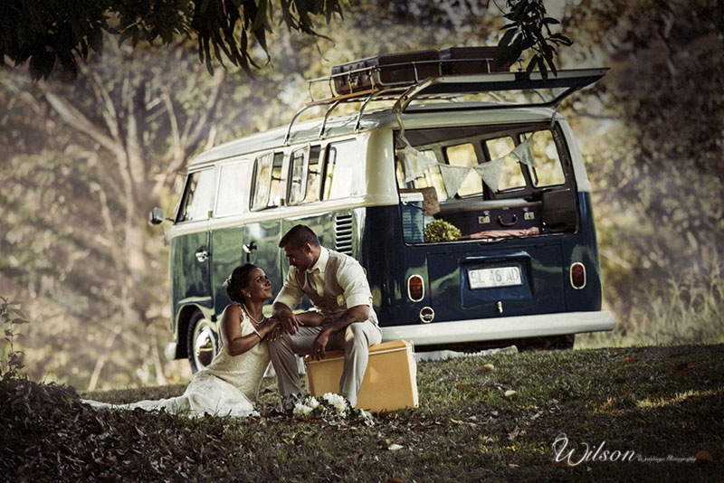 Bundaberg Bride and Sunshine Coast Groom get hitched - gorgeous wedding photography
