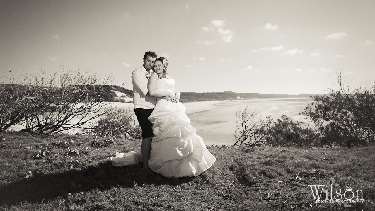 Wedding Photo of the Week Fraser Island wedding photography