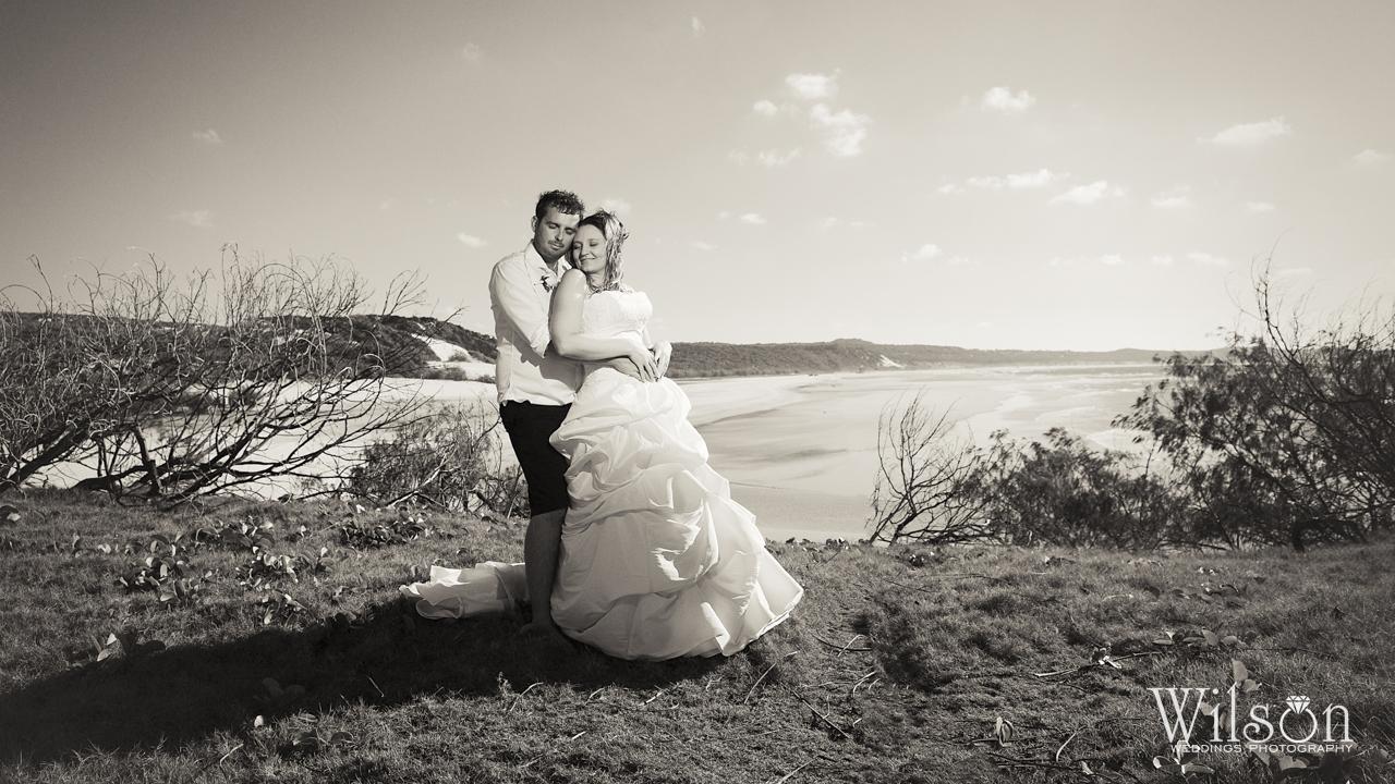 Wedding Photo of the Week Fraser Island wedding photography
