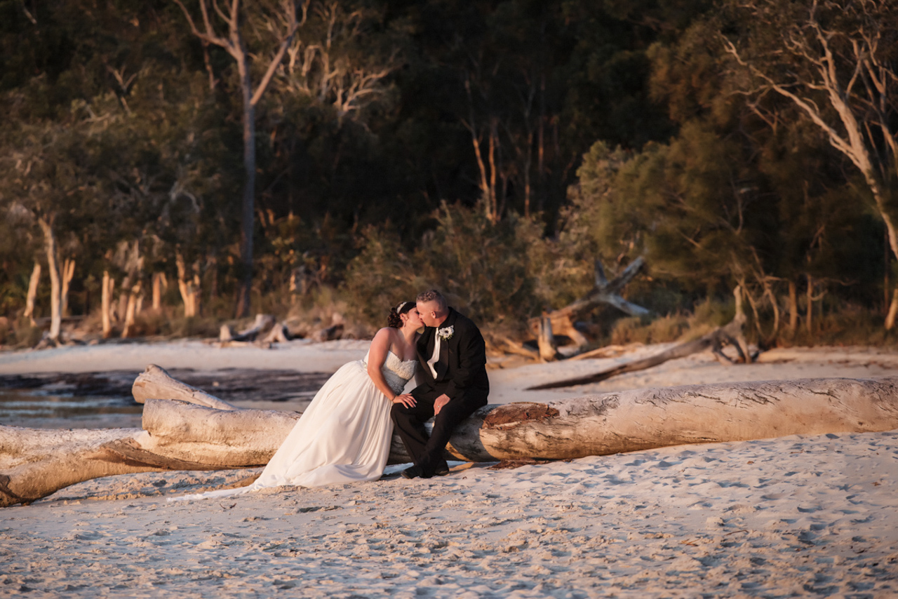 Fraser Island Wedding - Kristie and Toby