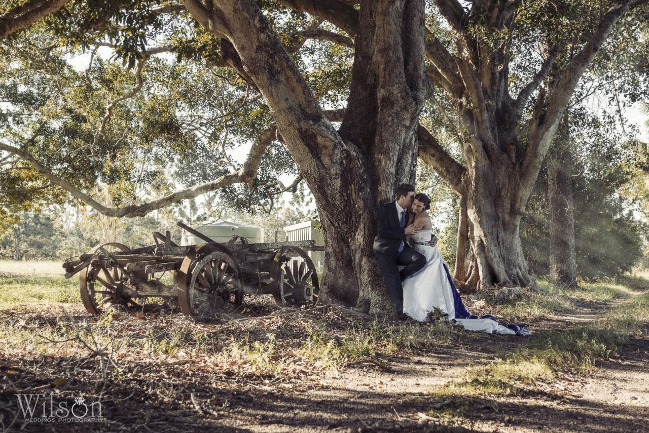 John and Sarah Bundaberg wedding photography