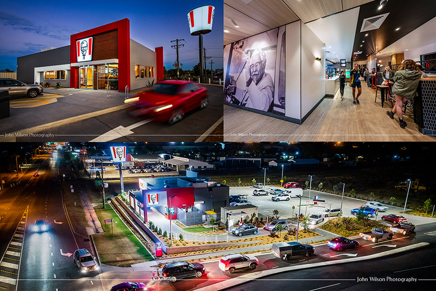 Commercial Photography KFC Bundaberg