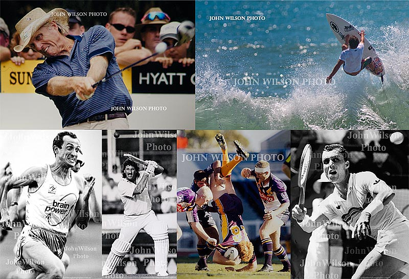 Sports identities by Bundaberg Photographer John Wilson