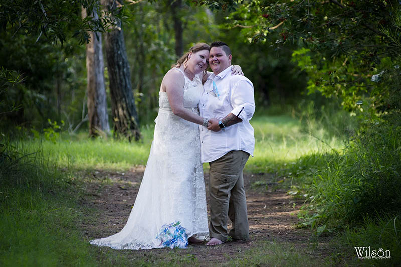 Jayne and Emma - Hervey Bay same sex wedding