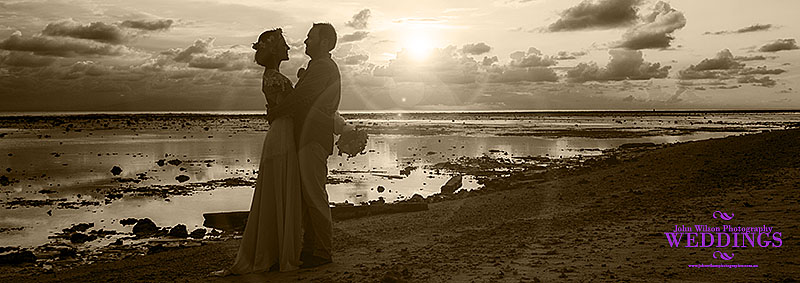 Gili Trawangan wedding photo