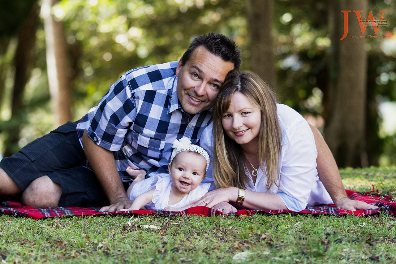 Family portrait photography Hervey Bay Maryborough