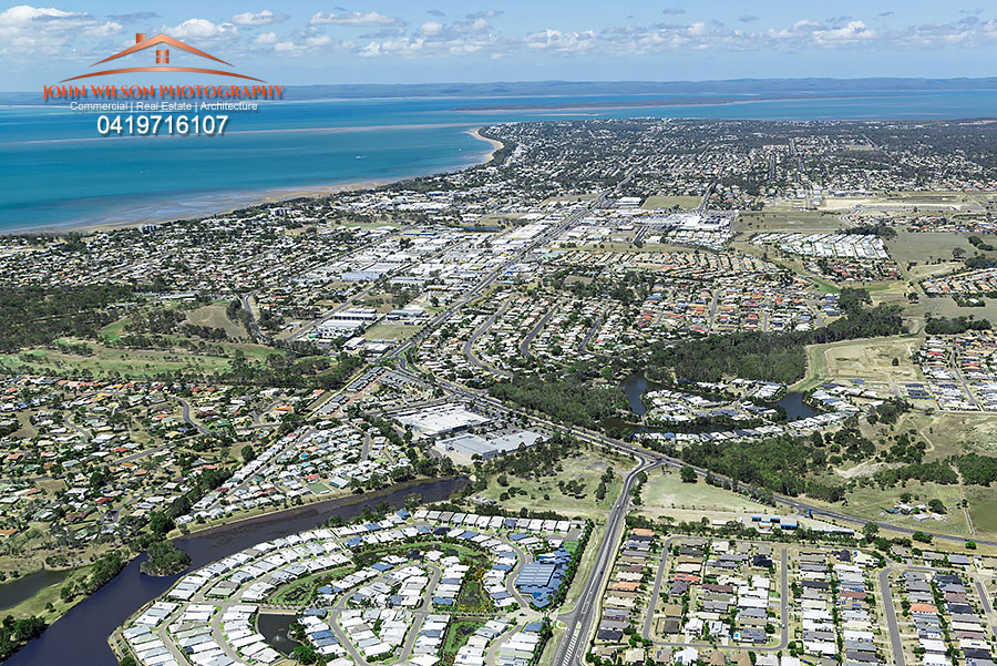 Hervey Bay aerial photography