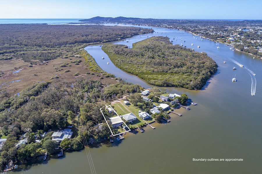 Aerial drone photography Noosa