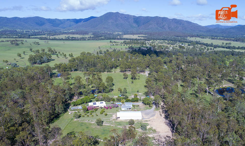 Aerial drone photography hinterland QLD