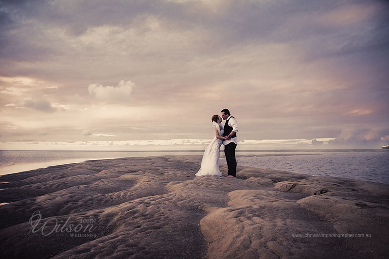 Beach wedding photography Hervey Bay Qld