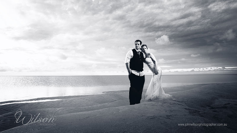 Hervey Bay wedding photograpy by John Wilson