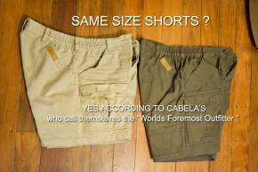 Cabelas clothing fail