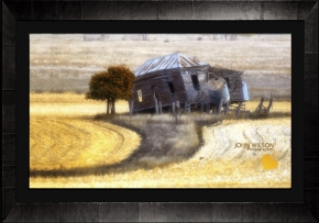 Rustic charm in a Queensland cornfield - Landscape photographer John Wilson