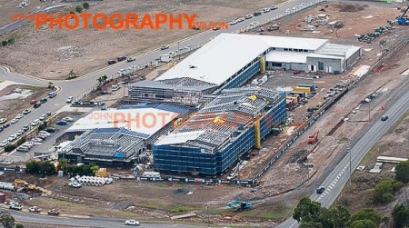 Hervey Bay Private Hospital aerial photography