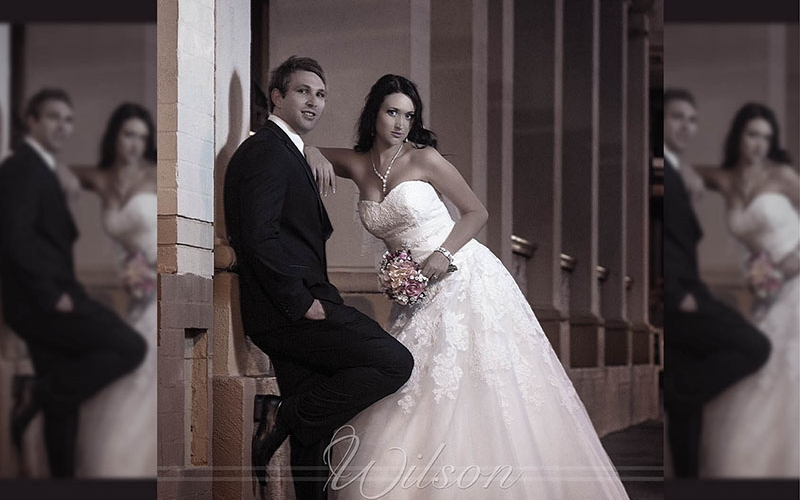Hervey bay Maryborough wedding photo